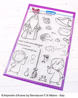 Clear stamps  A5 Believe in magic