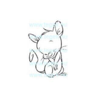 Rubber Stempel verlegen muis