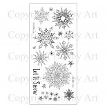 Winter's snowflakes Hobby Art Clear stamps