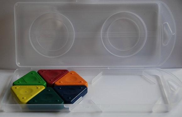 Mooie kunststof box voor de Te Gekke Krijtjes