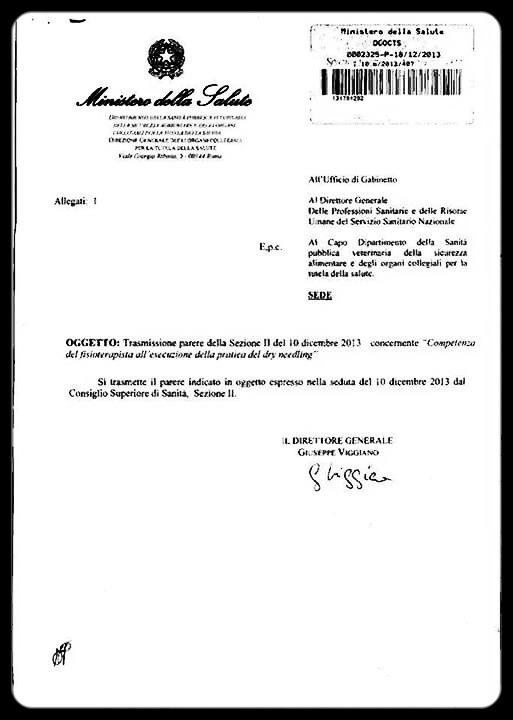 PARARE DRY NEEDLING MINISTERO DELLA SALUTE  1_edited