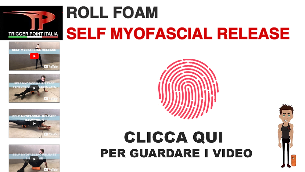 Roll foam Self myofascial release