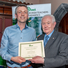 Eoghan O'Leary, Assistant Principal, Hamilton High School, Bandon, Co Cork