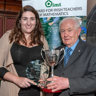WINNER Sarah Tallon from St. Leo's College, Old Dublin Road, Carlow