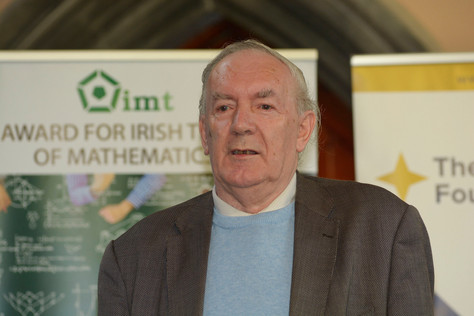 Prof Tom Laffey speaking about the  beginnings of the participation by Ireland at the IMO: