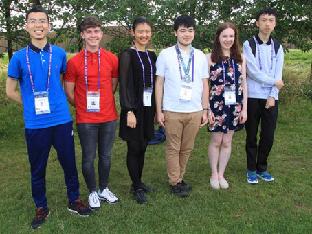 Silver Medal for Ireland at IMO 2019