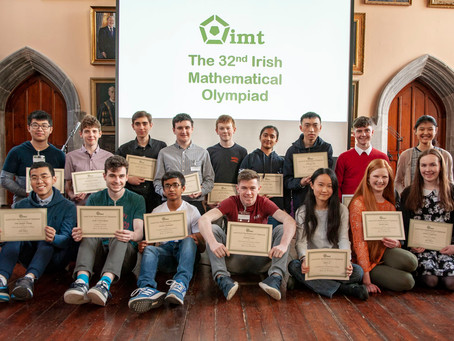 The 32nd Irish Mathematical Olympiad Awards