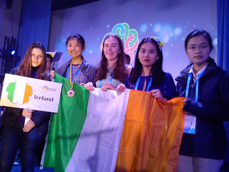 Ireland at the 8th European Girls Mathematical Olympiad in Kyiv, 7-13 April 2019