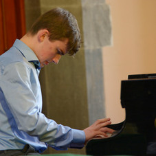Kevin Jansson played Chopin Nocturne no.13 in C Minor and the 3rd movement of Prokofiev Sonata no.7