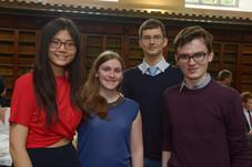 Antonia Huang, Jean O'Brien, Ivan Lobaskin and Mark Heavey