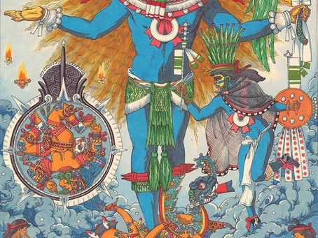 The Birth of Huitzilopochtli (in Honor of the Winter Solstice)