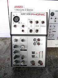 2 ch Phonic Mixer
