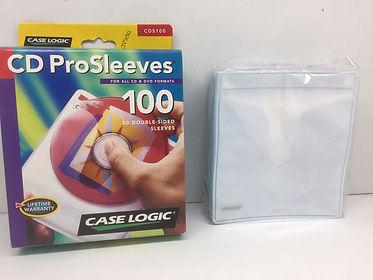 Case Logic 100 CD Sleeves