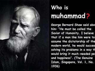 George Bernard Shaw on Prophet Muhammad