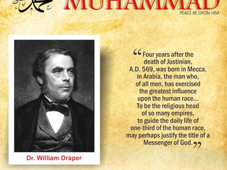 Dr. William Draper on Prophet Muhammad