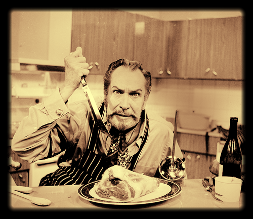Vincent Price. The Accomplished Actor, and Devoted Foodie.