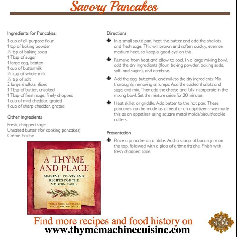 Savory Pancake Recipe