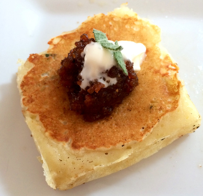 On Fat Tuesday, Live it up. Grab Some Savory Pancakes, Why Not Add a Bit of Bacon Jam.