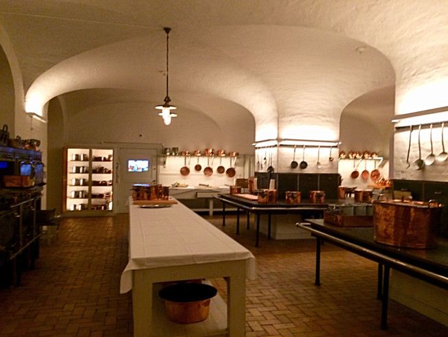 Christiansborg Palace and the Royal Kitchen of Denmark