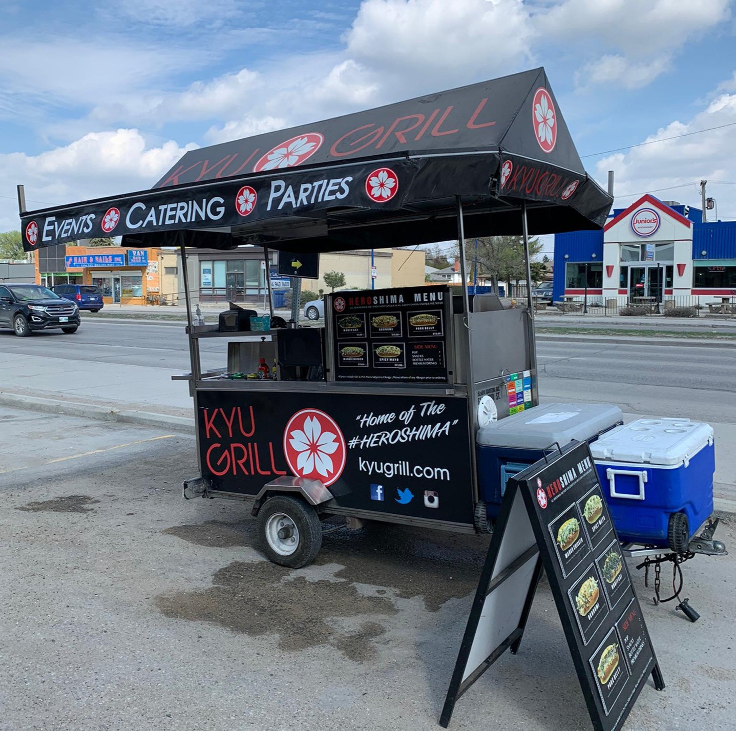 Food Cart On-Site Catering