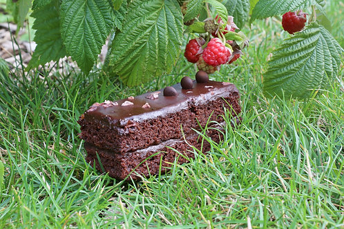 DOUBLE LAYER CHOCOLATE BROWNIE