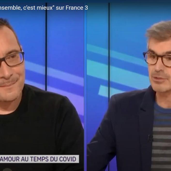 """Passage à l'émission """"Ensemble c'est mieux"""" sur France 3"""