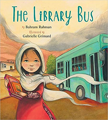 The Library Bus by by Bahram Rahman
