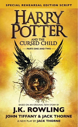 Harry Potter & the Cursed Child Parts 1&2 JK Rowling, John Tiffany & Jack Thorne