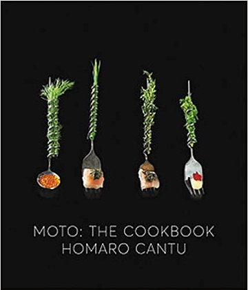 Moto: The Cookbook by Homaro Cantu
