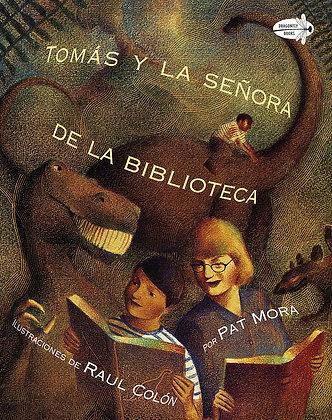 Tomás y la Señora de la Biblioteca de Pat Mora