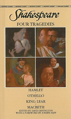 Four Tragedies: Hamlet, Othello, King Lear, Macbeth by William Shakespeare