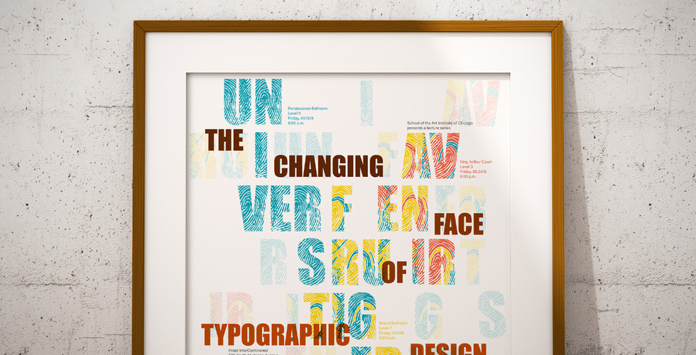 Typography Poster Series