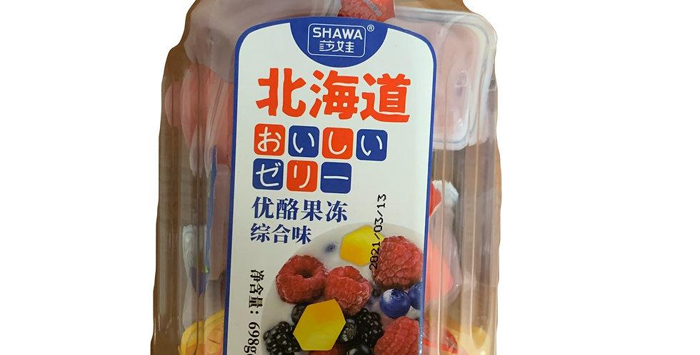 北海道 优酪果冻综合味 698g