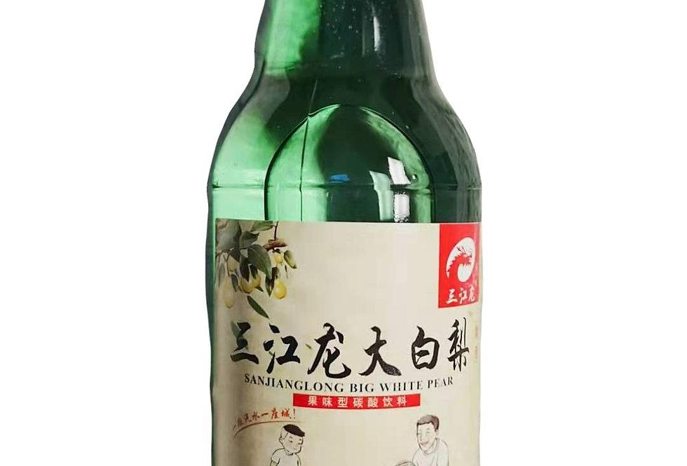 三江龙 大白梨 果味型汽水 330ml