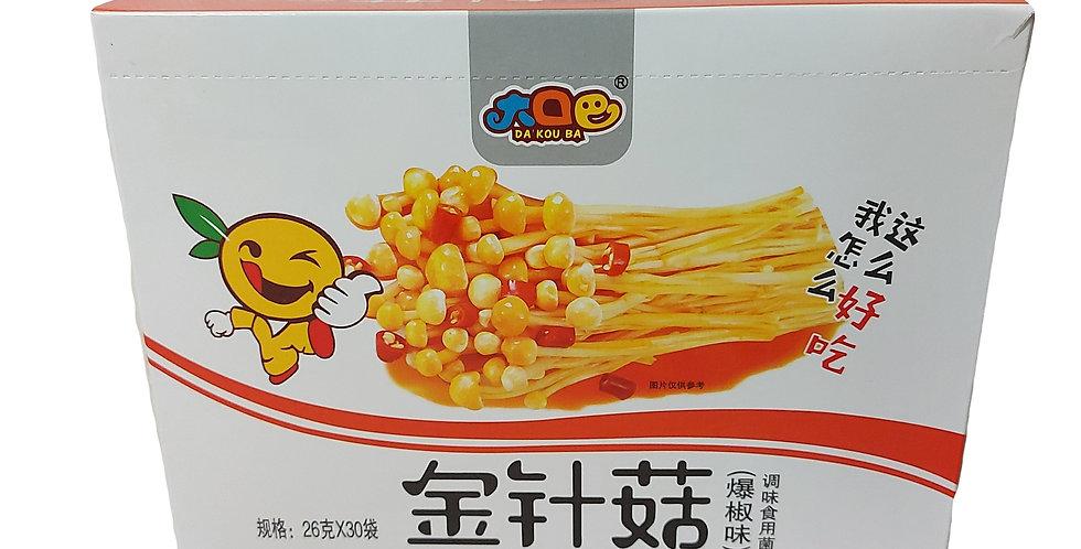 金针菇 爆椒味 26g x 30袋