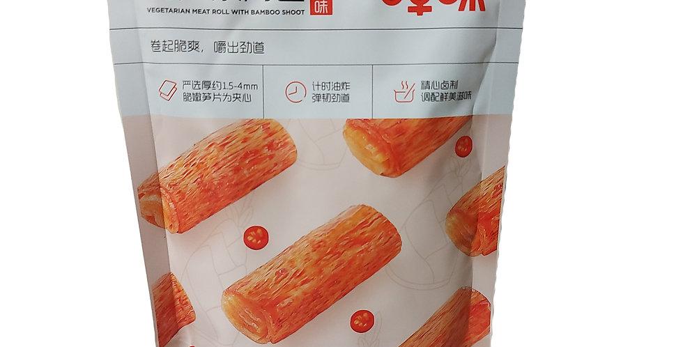 百草味 竹笋素肉卷 香辣味 185g