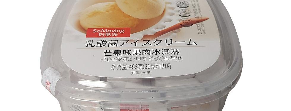 好感冻 乳酸菌 芒果味果肉冰淇淋 468g