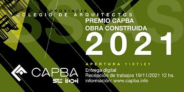Premio  CAPBA Obra Construida 2021