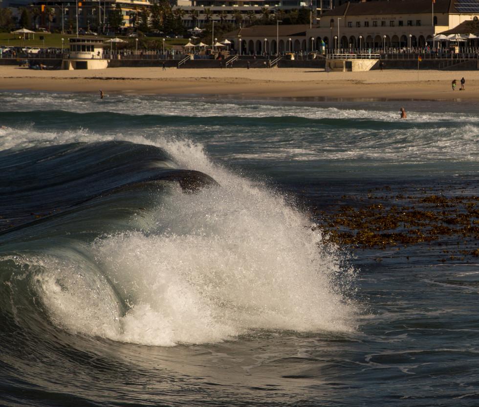 big Bondi wave, north end