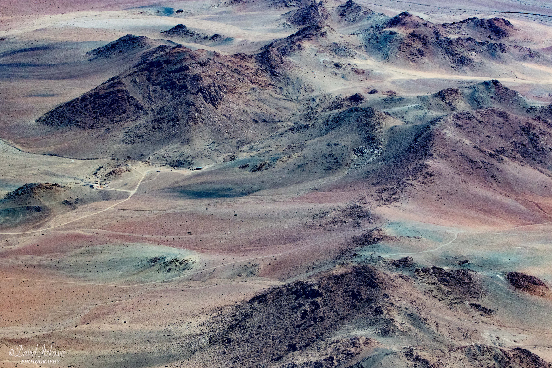 Mountains in the desert 3