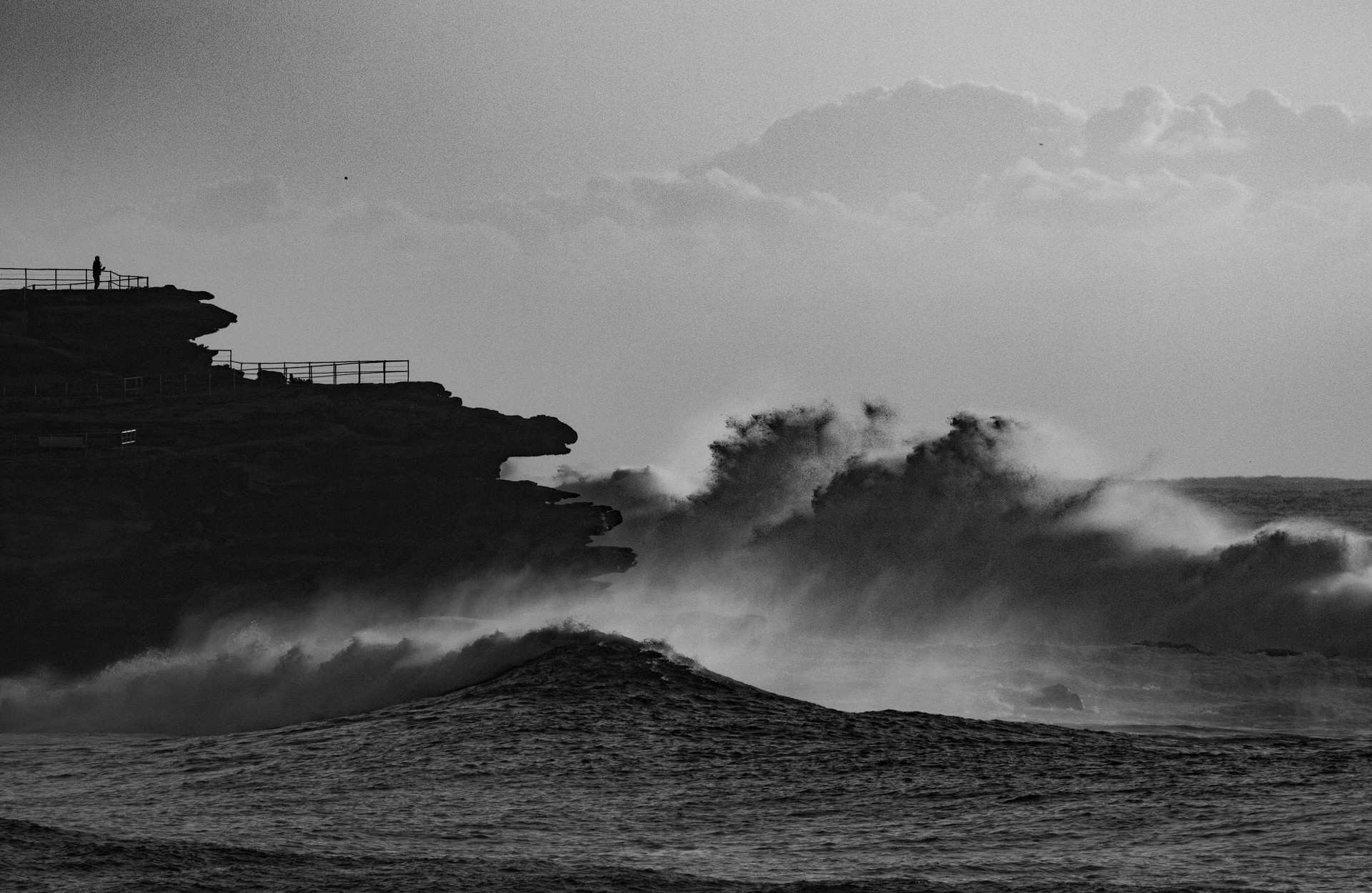 massive storm waves,north Bondi