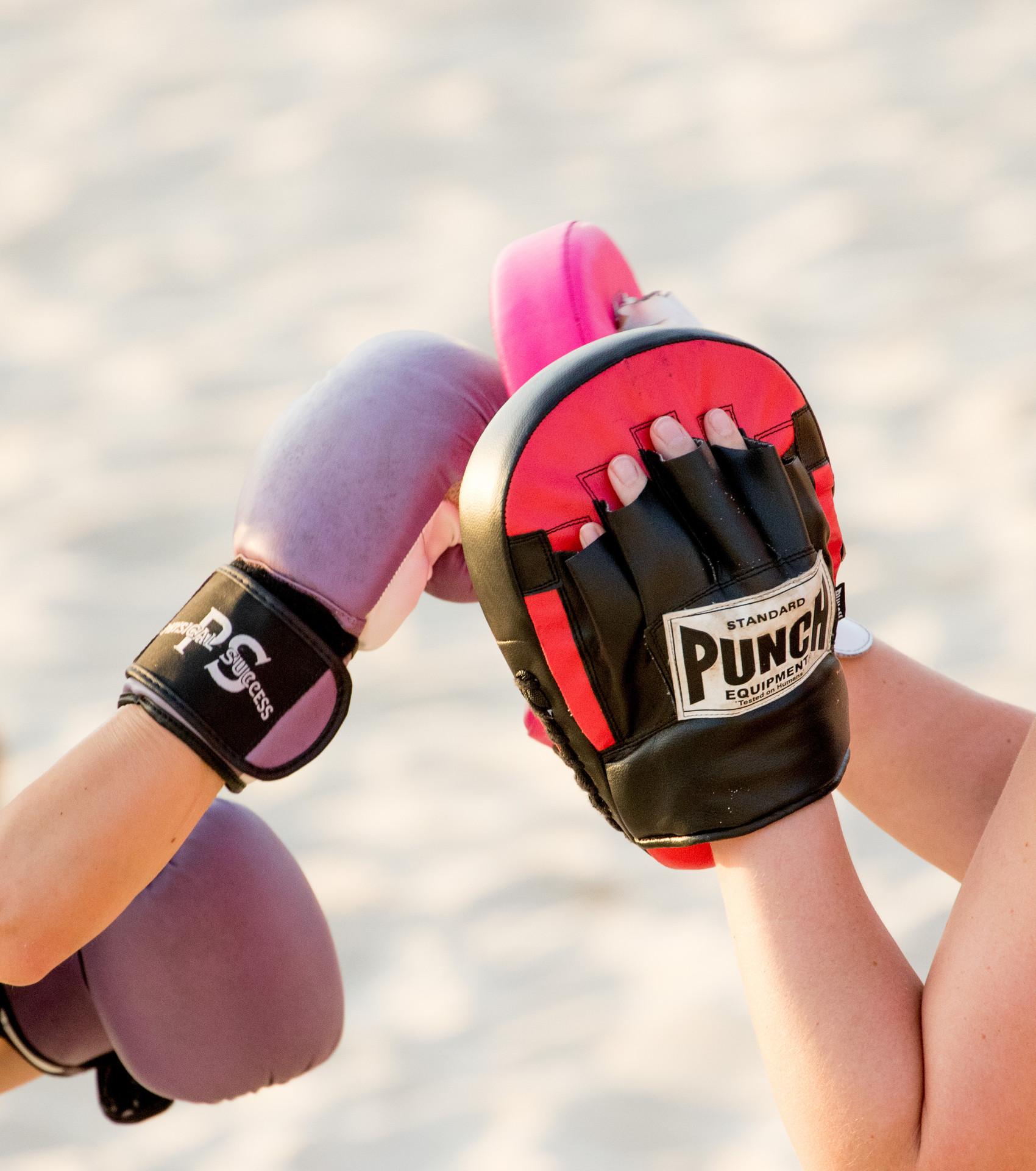 punching, Bondi Beach