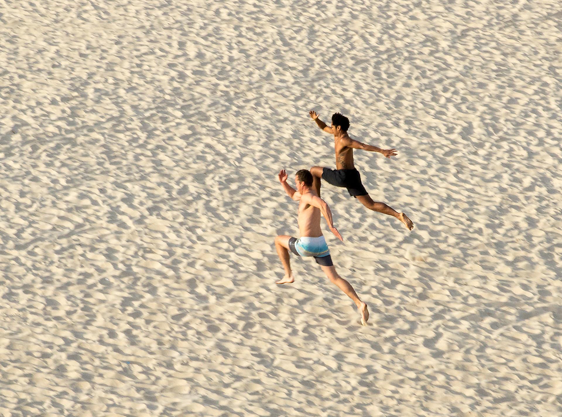 race, Bondi Beach