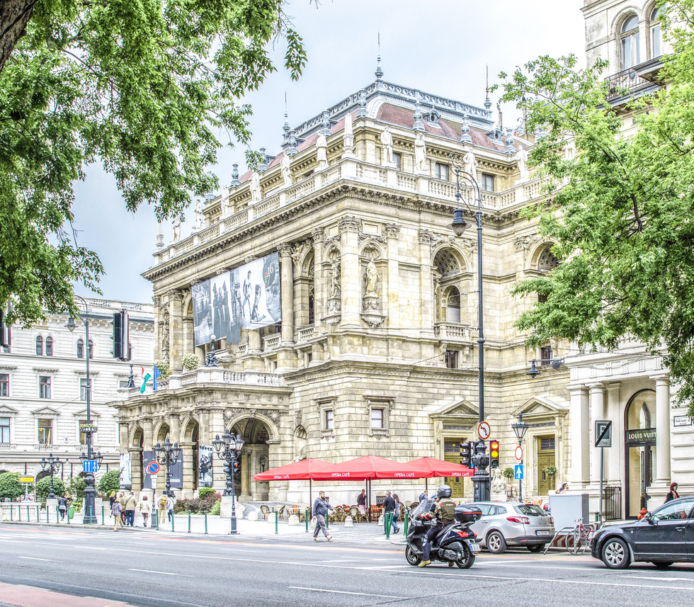 the Opera House, Budapest