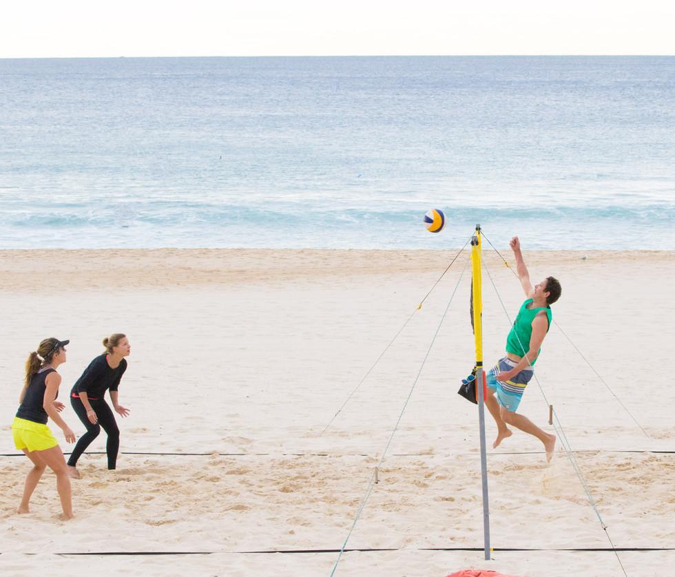 volleyball, Bondi Beach