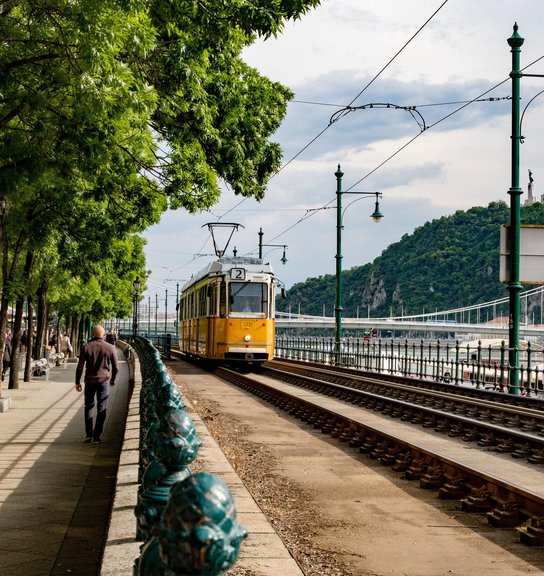 tram, Budapest