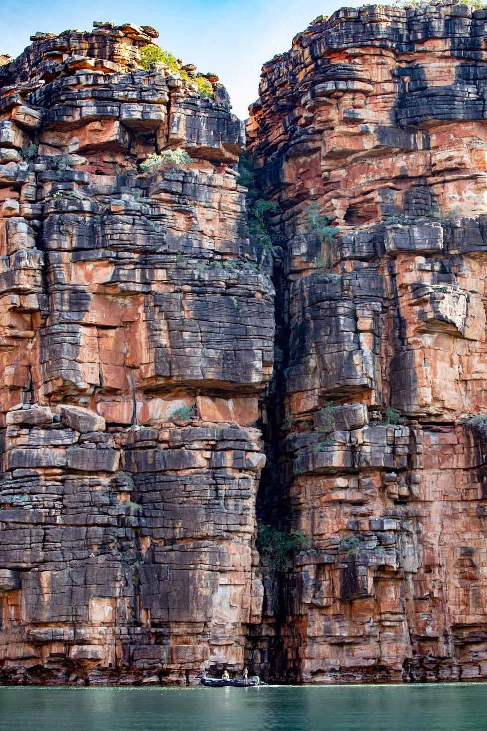 red cliffs, Kimberley
