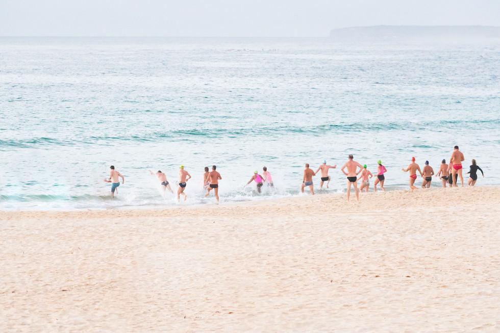 surf race, Bondi Beach