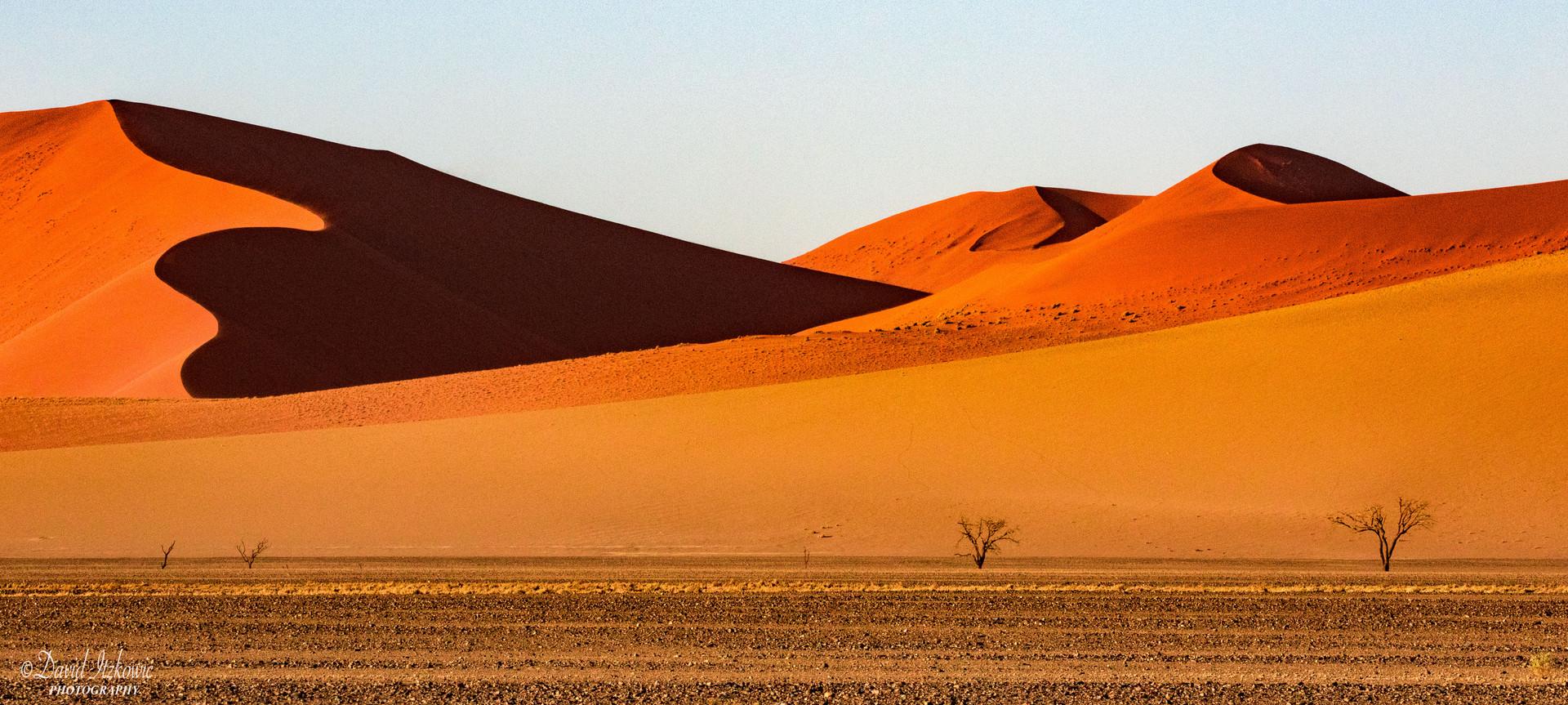 Sand dunes, Sossusvlei