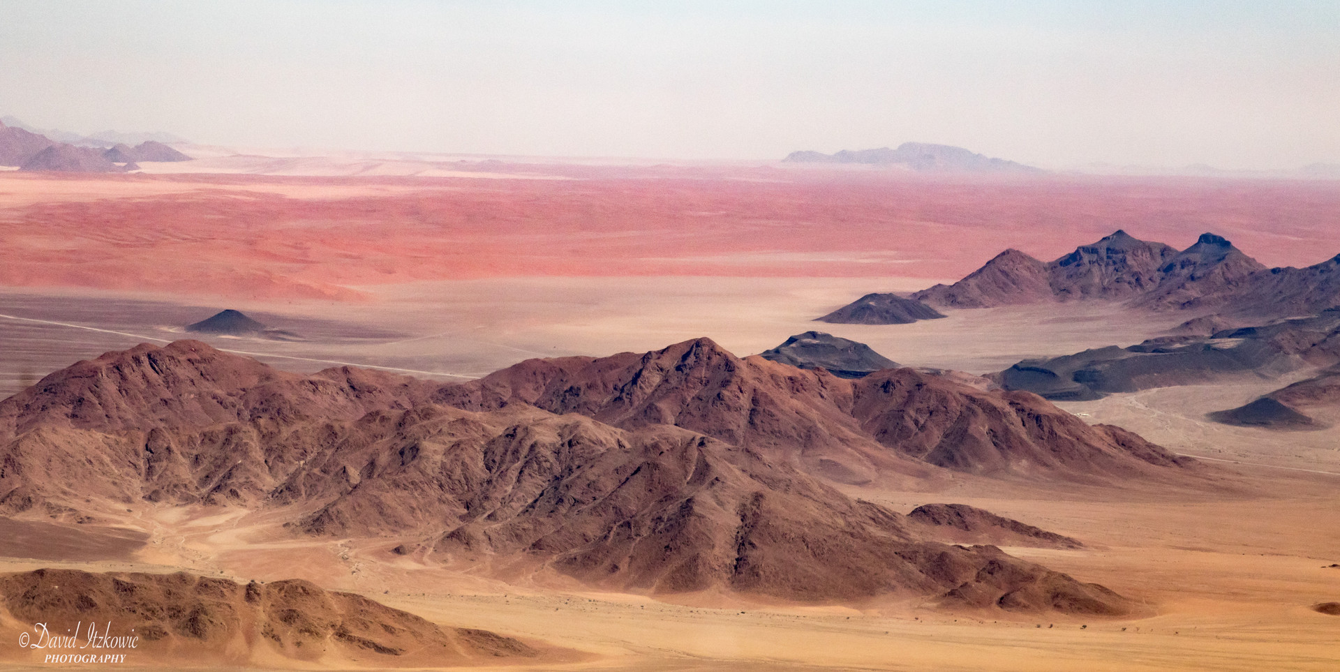 Mountains in the desert 1